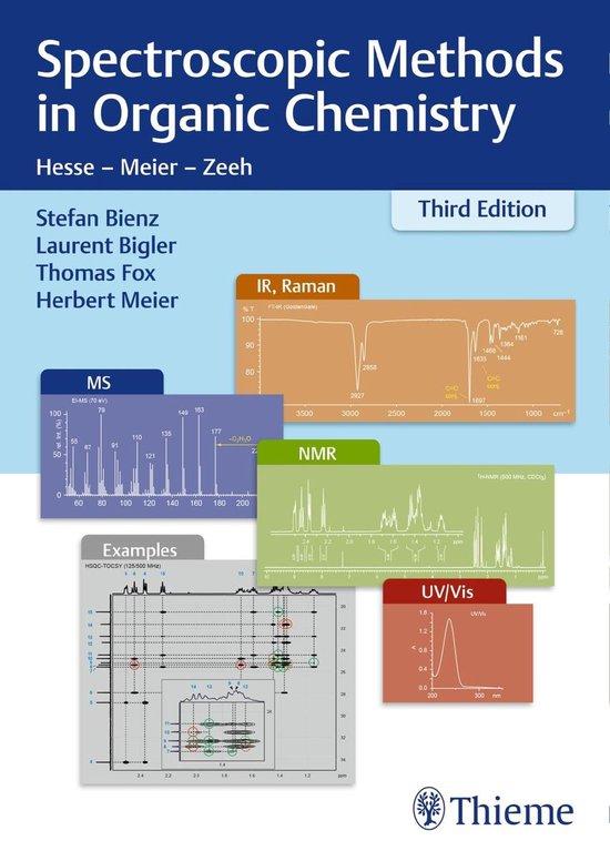 Boek cover Spectroscopic Methods in Organic Chemistry van Stefan Bienz (Onbekend)