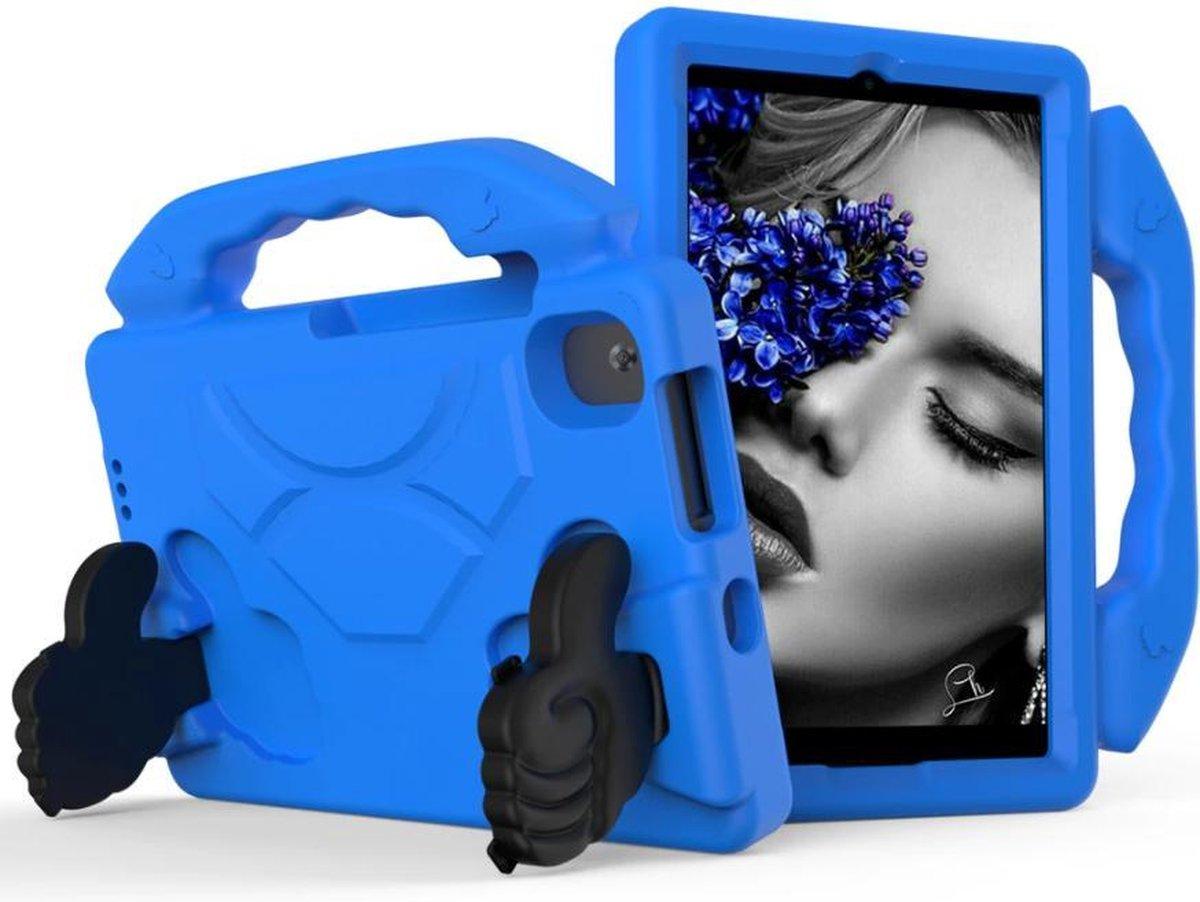 Kindertablet M81 Blauw - kidstablet disney+ netflix - Tablet 8 inch - 64GB - Android 9.0 - vanaf 2 jaar - Scherp hd ips beeld - leerzame tablet voor kinderen - Wifi - Bluetooth - voor camera - sim kaart slots - kinder tablet - uitstekende batterij