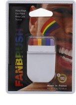 Fanbrush Regenboog Rainbow Pride Schmink