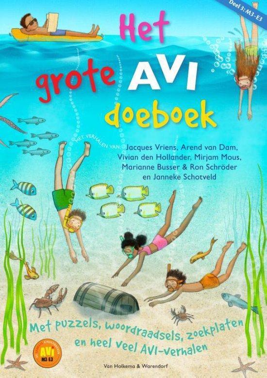 Boek cover Het grote AVI doeboek Deel 3 van Jacques Vriens (Paperback)