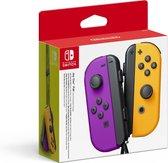 Nintendo Joy-Con set van 2 neon lila / neon oranje
