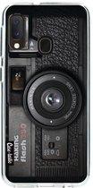 Samsung Galaxy A20e hoesje Camera 2 Casetastic Smartphone Hoesje softcover case