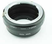 Adapter AI G-M4/3: Nikon F/AI/AIS/G Lens - Micro M43 camera