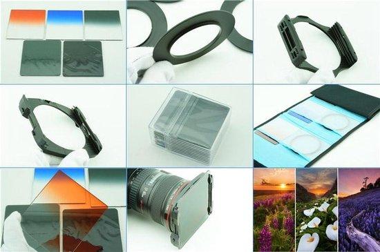 10 in 1 graduated square filter grijsverloopfilter kit
