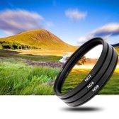 3x 72mm ND Filter grijsfilter +2+4+8 camera lens filter
