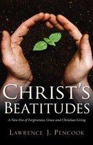 Boek cover Christs Beatitudes van Lawrence J Pencook