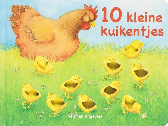 Cover van het boek '10 kleine kuikentjes'