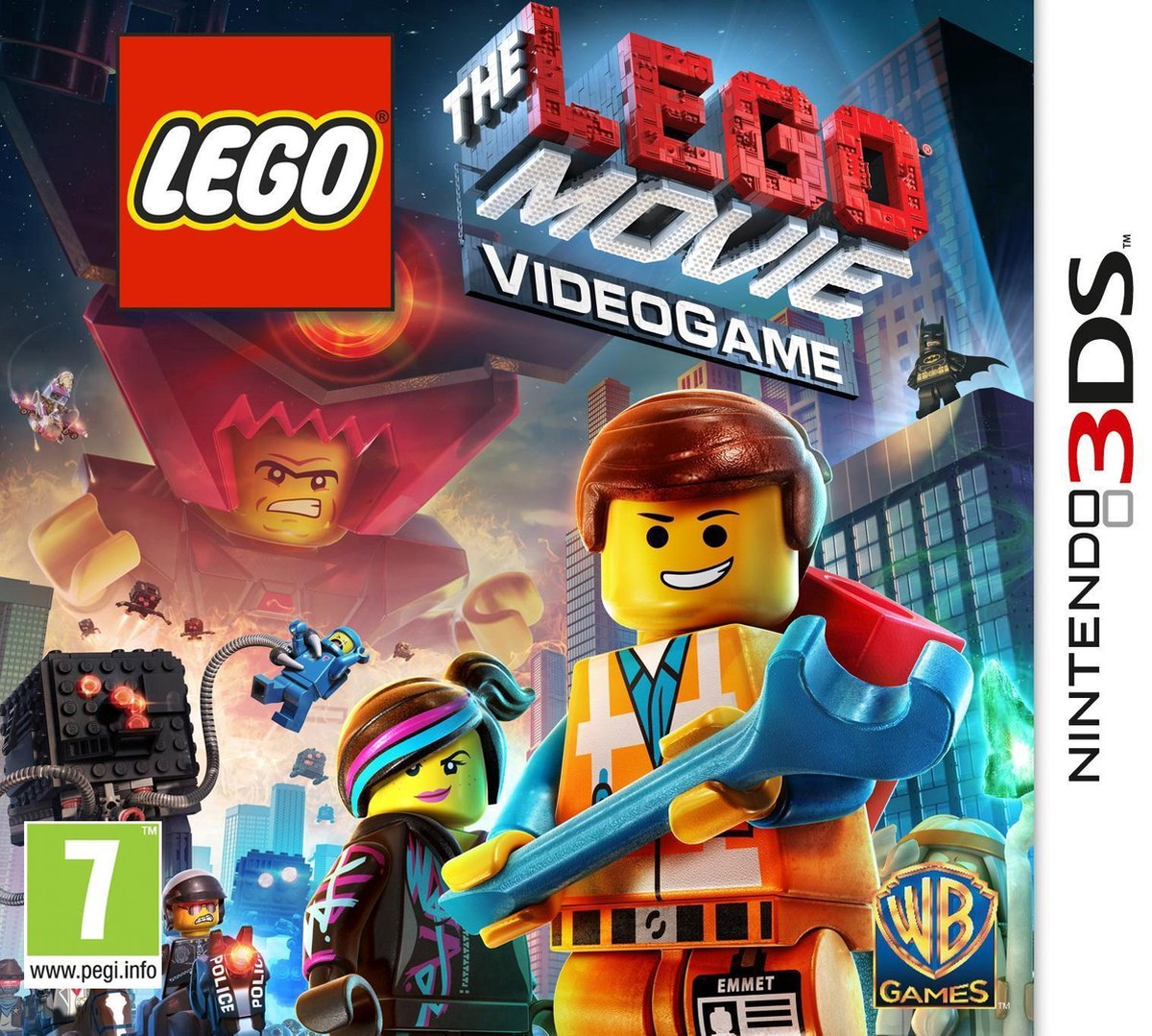 The LEGO Movie Videogame - 2DS + 3DS - Warner Bros. Games
