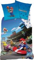 Nintendo Mario Kart Winner - Dekbedovertrek - Eenpersoons - 140 x 200 cm - Multi