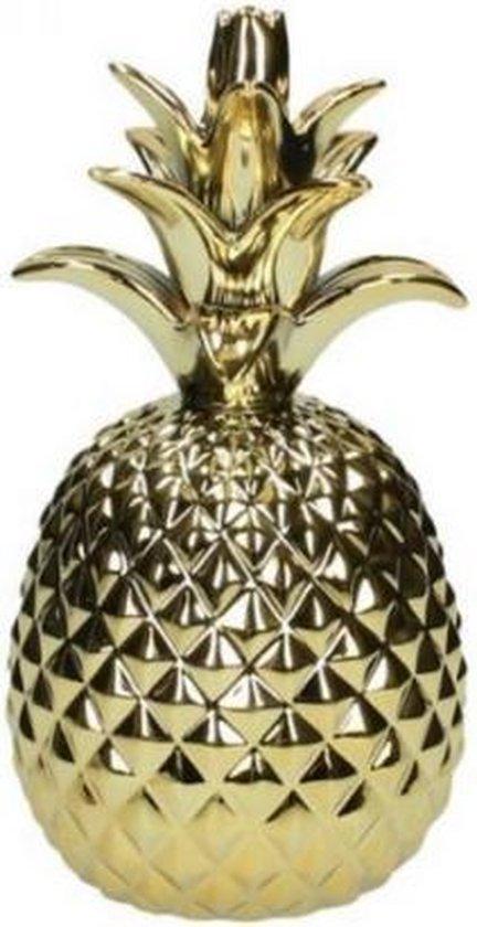 Bol Com Ananas Decoratie Goud