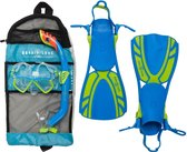 Aqua Lung Sport Regal Set Junior - Snorkelset - M (31-36) - Blauw/Groen