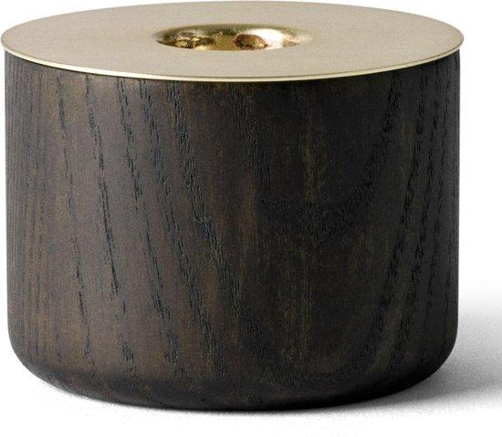 Menu Chunk of Wood kaarsenstandaard medium