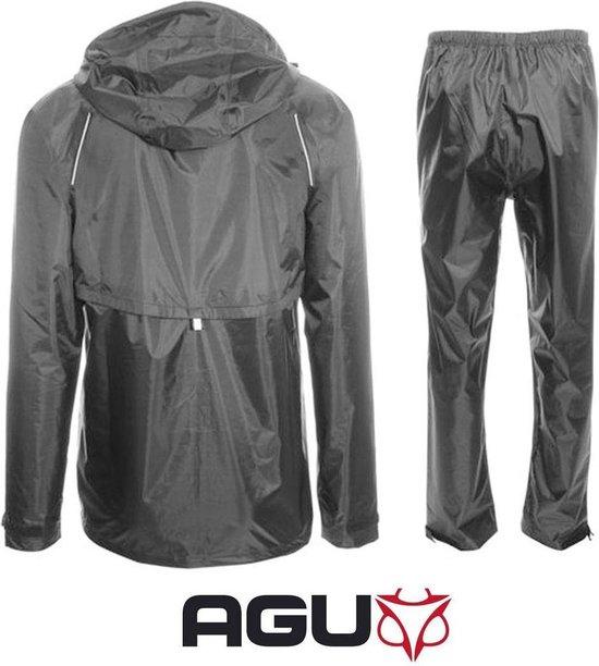 AGU Passat Regenpak - Unisex - Maat L - zwart - AGU