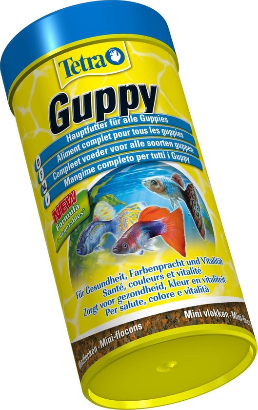 Guppy Vlokken - Visvoer - 250 ml