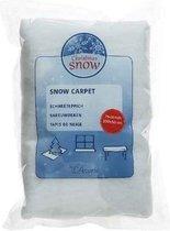 Sneeuwdeken / sneeuwtapijt 200 x 50 cm - rechthoekig - sneeuwkleedjes