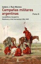 CAMPAÑAS MILITARES ARGENTINAS - III (1854-1865)