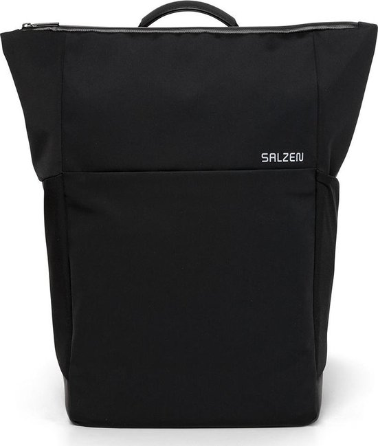 Salzen Laptoprugzak Plain Backpack - zwart