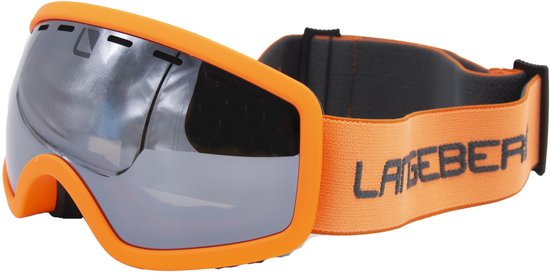 Skibril Kids Langeberg Bright Orange