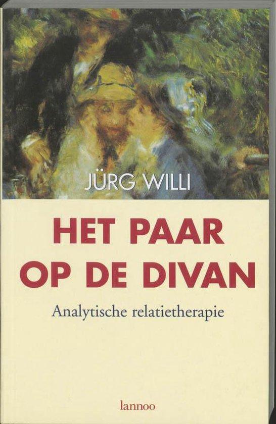 Cover van het boek 'Het paar op de divan'