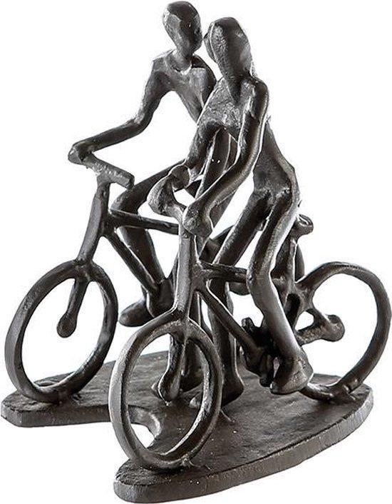 Sculptuurtje fietsers