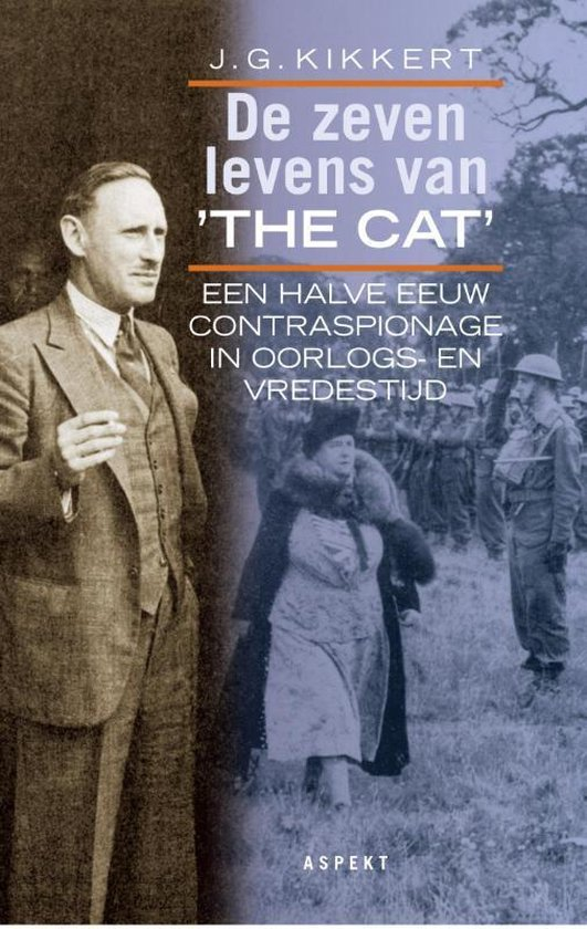 De zeven levens van The Cat - J.G. Kikkert |
