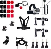 32 in 1 Outdoor GoPro Accessories Kit voor GoPro Hero 4/3+/3/2/1 en Actioncam