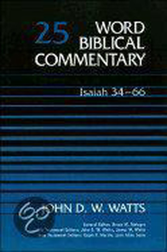 Boek cover Word Biblical Commentary van John D. W. Watts (Hardcover)