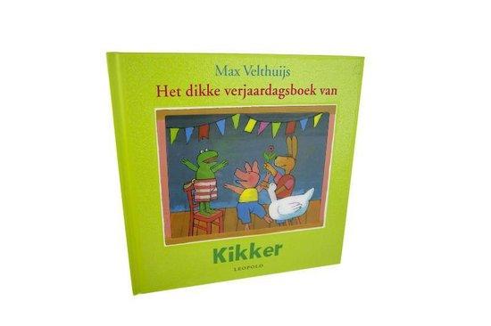 Het dikke verjaardagsboek van Kikker - Max Velthuijs |