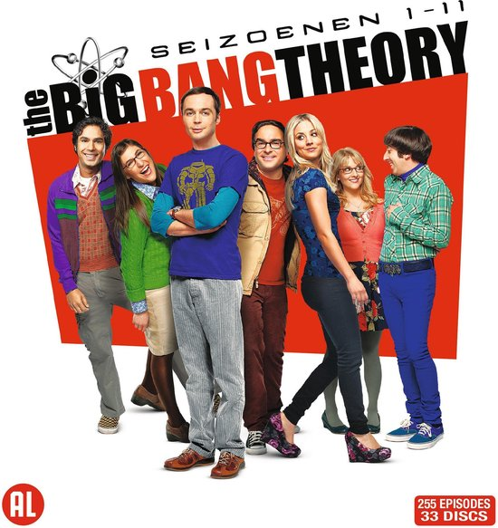 BIG BANG THEORY S1-11 /S 33DVD