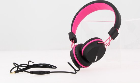 Kurio Koptelefoon - Roze