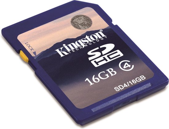 Kingston Secure Digital Card SDHC 16GB