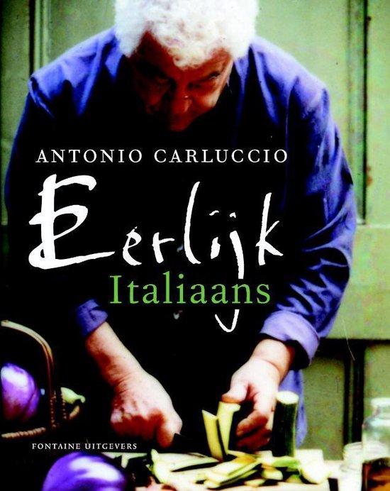 Boek cover Eerlijk italiaans van Antonio Carluccio