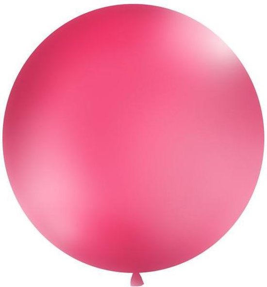 """""""Balloon 1m, round, Pastel fuchsia"""""""