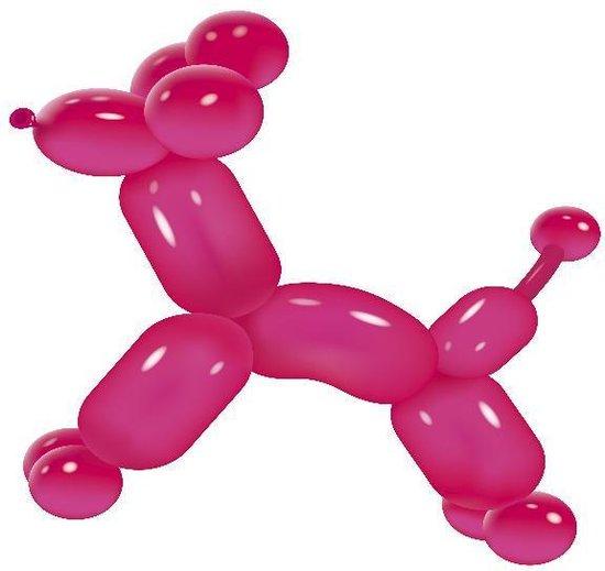 Neon Modelleer ballonnen 100 stuks