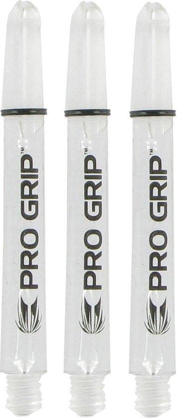 Afbeelding van het spel 5 sets PRO GRIP CLEAR INTERMEDIATE dart shaft