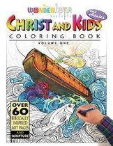 Christ and Kids and Adults Coloring Book