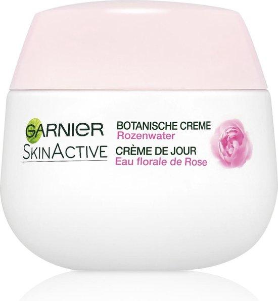 Garnier SkinActive Botanische Dagcrème Rozenwater - 50 ml - Droge en Gevoelige Huid