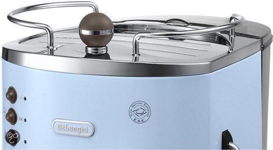 De'Longhi Icona Vintage ECOV310.AZ Handmatige Espressomachine -  Licht Blauw