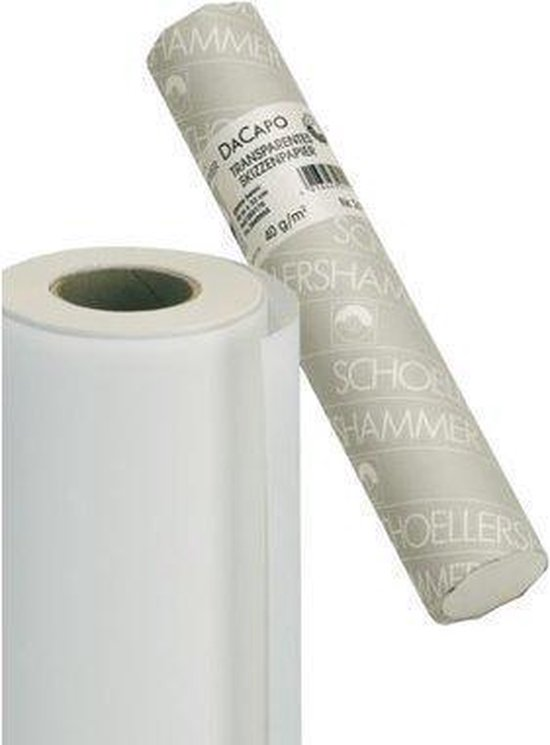 Afbeelding van Tekenpapier 33cmx50m 50 gr Schoellershammer speelgoed