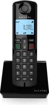 Alcatel S250 draadloze Dect huistelefoon voor vaste lijn - zwart
