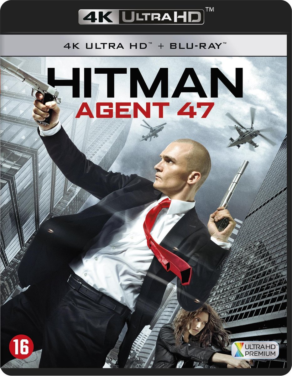 Hitman: Agent 47 (4K Ultra HD Blu-ray)-