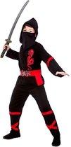 E-Carnavalskleding.nl: 140cm - e-Carnavalskleding.nl Ninja pak power zwart