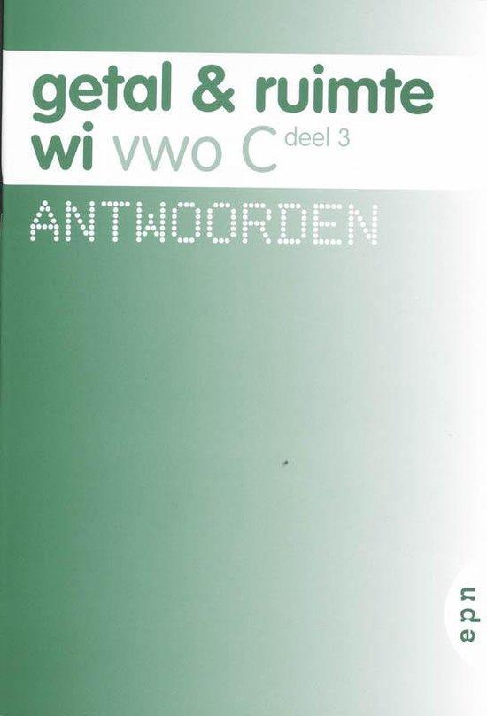 Getal en Ruimte / 3 Vwo C / deel Antwoorden - L.A. Reichard |