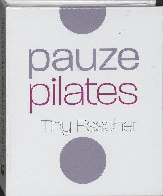 Cover van het boek 'Pauze pilates'
