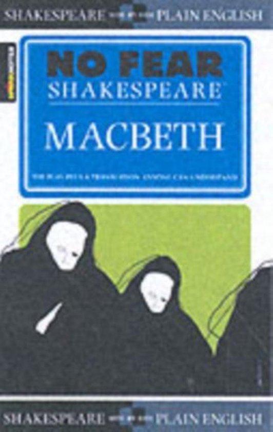 Boek cover Macbeth (No Fear Shakespeare) van Sparknotes (Paperback)