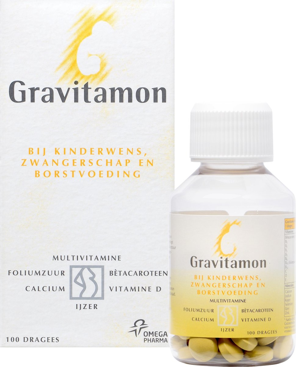 Gravitamon - 100 Tabletten - Multivitamine