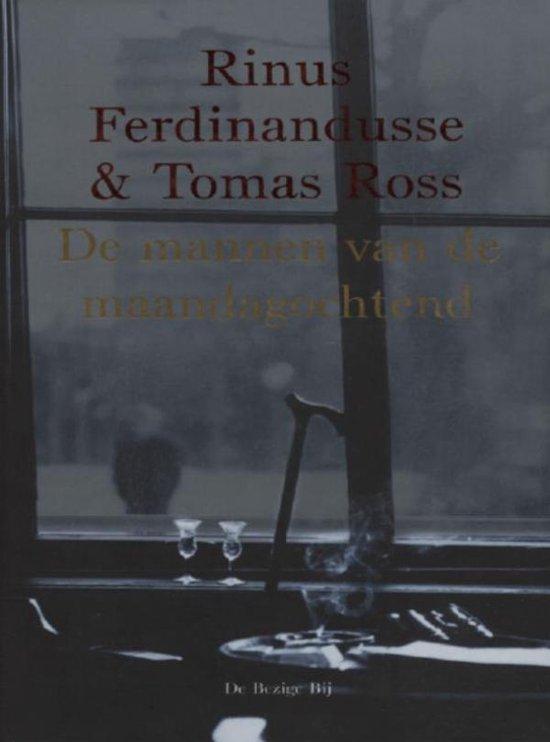 Cover van het boek 'De mannen van de maandagochtend' van Rinus Ferdinandusse