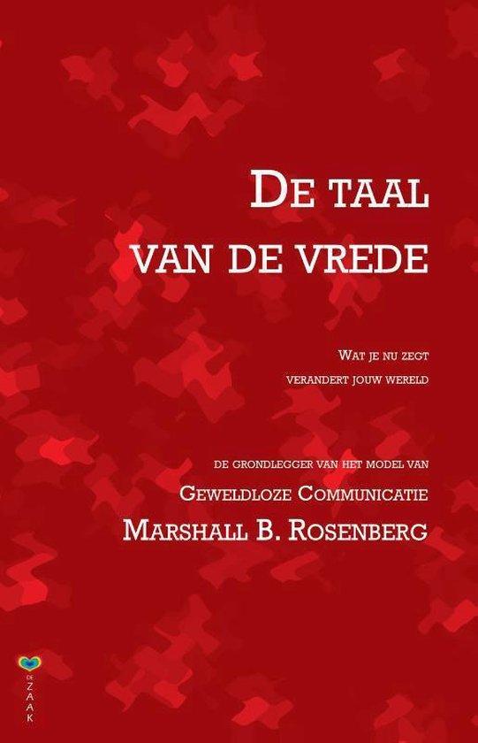 De taal van de vrede - Marshall B. Rosenberg | Readingchampions.org.uk