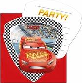 12x Disney Cars uitnodigingen voor een kinderfeestje/verjaardag - Cars thema feestje