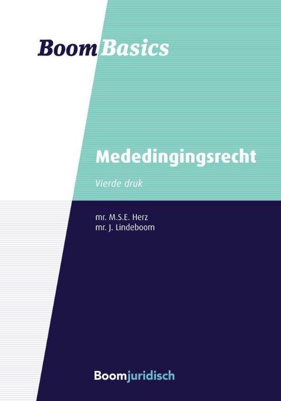 Boom Basics - Mededingingsrecht - M.S.E. Herz | Readingchampions.org.uk
